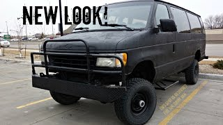 Epic 4x4 Beast! Ford E-350 Bug Out Van
