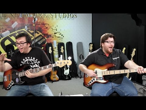 Fender Jazz Bass Comparison (featuring Nick Maffei)