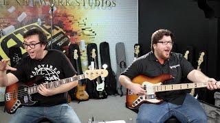 Fender Jazz Bass Comparison (featuring Nick Maffei)