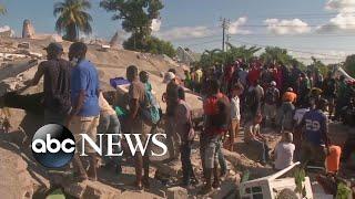 Rescue efforts continue in Haiti