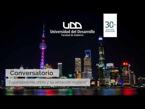 Conversatorio: Expansionismo chino y su ambición regional