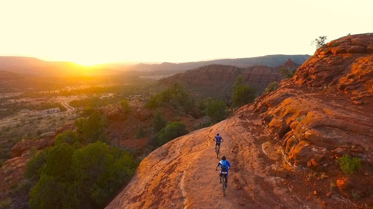 Watch Out For Bicycles >> Ride Spot: Mountain Biking in Sedona, Arizona - YouTube