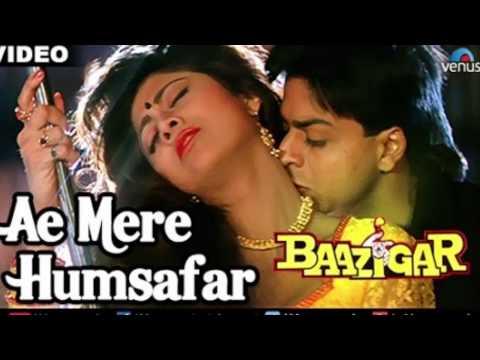 #67:-Ae Mere Humsafar | Baazigar| Shahrukh Khan| Shilpa Shetty |Saxophone Cover