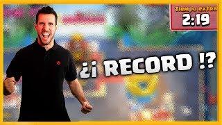¿¡ RECORD DE VICTORIA en MUERTE SUBITA !? - CLASH ROYALE