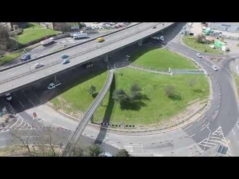 Redbridge Roundabout resurfacing - Southampton