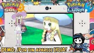 ¡Por fin aparece Lylia! - Demo Pokémon Sol y Luna