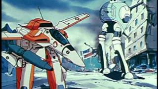 Robotech Remastered vs. Macross in English Minmay OH NO!!!
