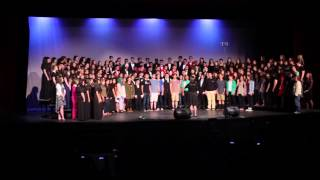 Combined Choirs and Alumni---The Lord Bless You and Keep You