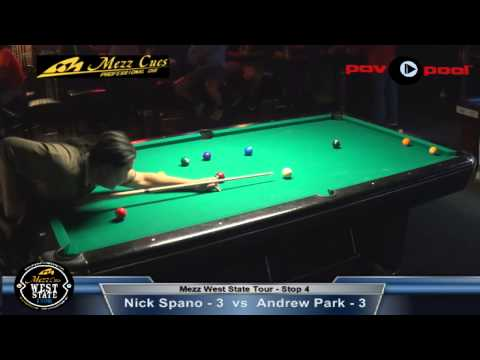 2014 Mezz West State Tour #4 - Nick Spano vs Andrew Park