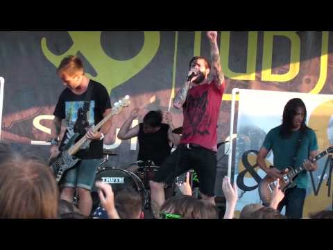 HD Of Mice & Men - Those In Glass Houses (Live at the Vans Warped Tour 2010)