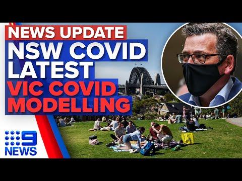 NSW Records 935 New Cases, Modelling Predicts Victoria's Cases Could Soar | 9 News Australia