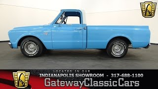 1967 Chevrolet C10 Short Bed pickup #516-ndy - Gateway Classic Cars - Indianapolis
