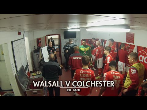 BEHIND THE SCENES | Colchester United (H)