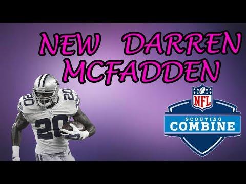 BRAND NEW COMBINE DARREN MCFADDEN IS TRASH. MADDEN 17 ULTIMATE TEAM