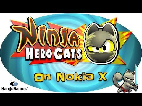Nokia X Gameplay - Ninja Hero Cats