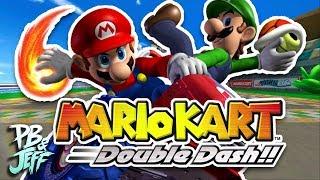 TEAMWORK WINS RACES! - Mario Kart Double Dash Co-Op (Part 1)