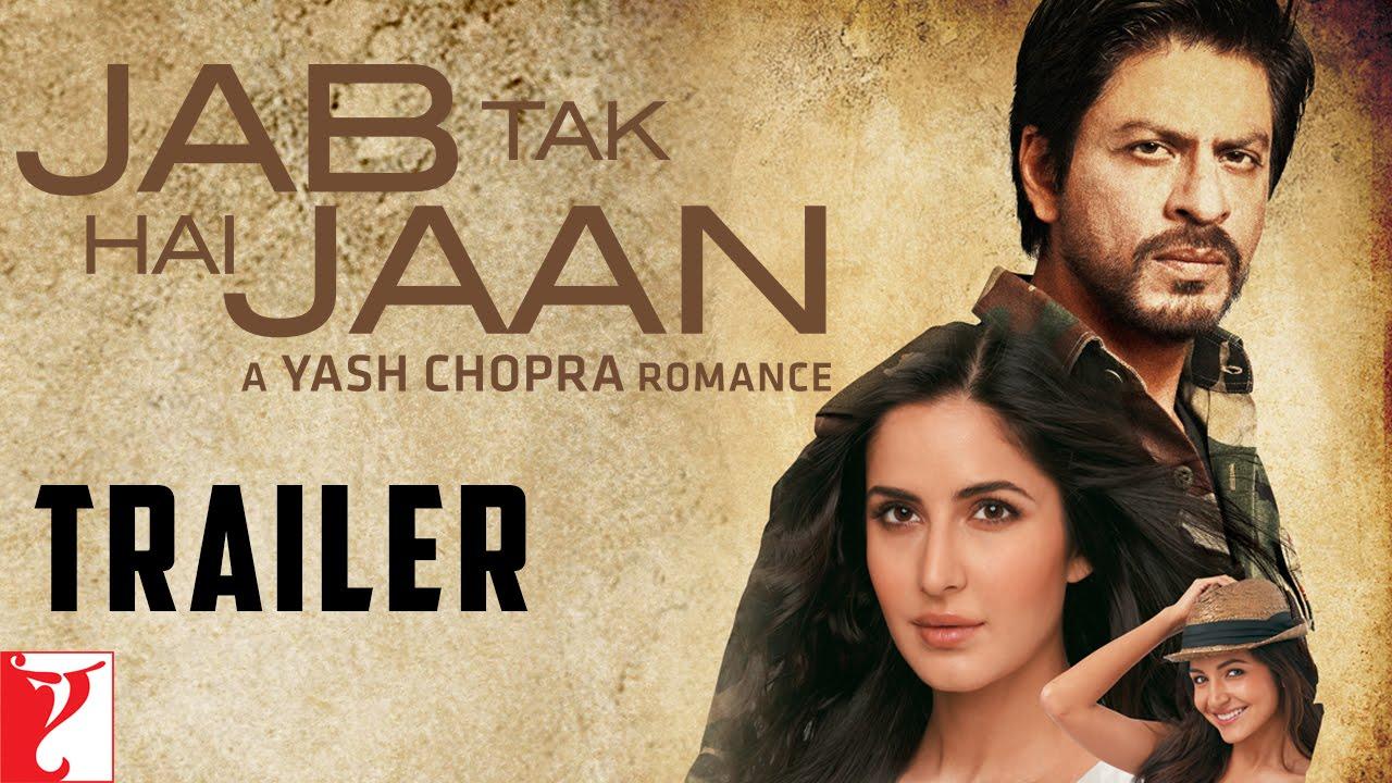 Download Jab Tak Hai Jaan | Official Trailer | Shah Rukh Khan | Katrina Kaif | Anushka Sharma