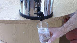 Purifying Water Using a British Berkefeld
