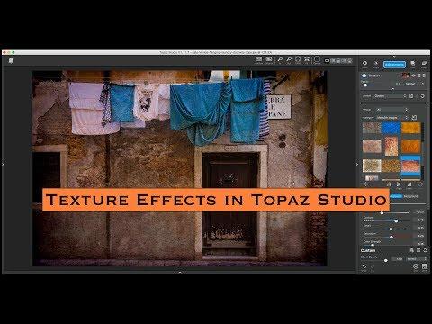 Amazing Texture Effects in Topaz Studio