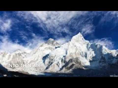 Into Thin Air By Jon Krakauer (Elements Of Literature Excerpt)