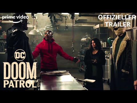 5 furchtlose Superhelden | Doom Patrol | Offizieller Trailer | Prime Video DE