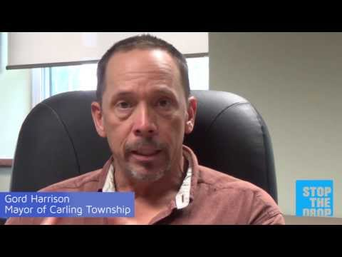 stopthedrop.ca Mayor's Challenge - Gord Harrison, Mayor of Carling Township