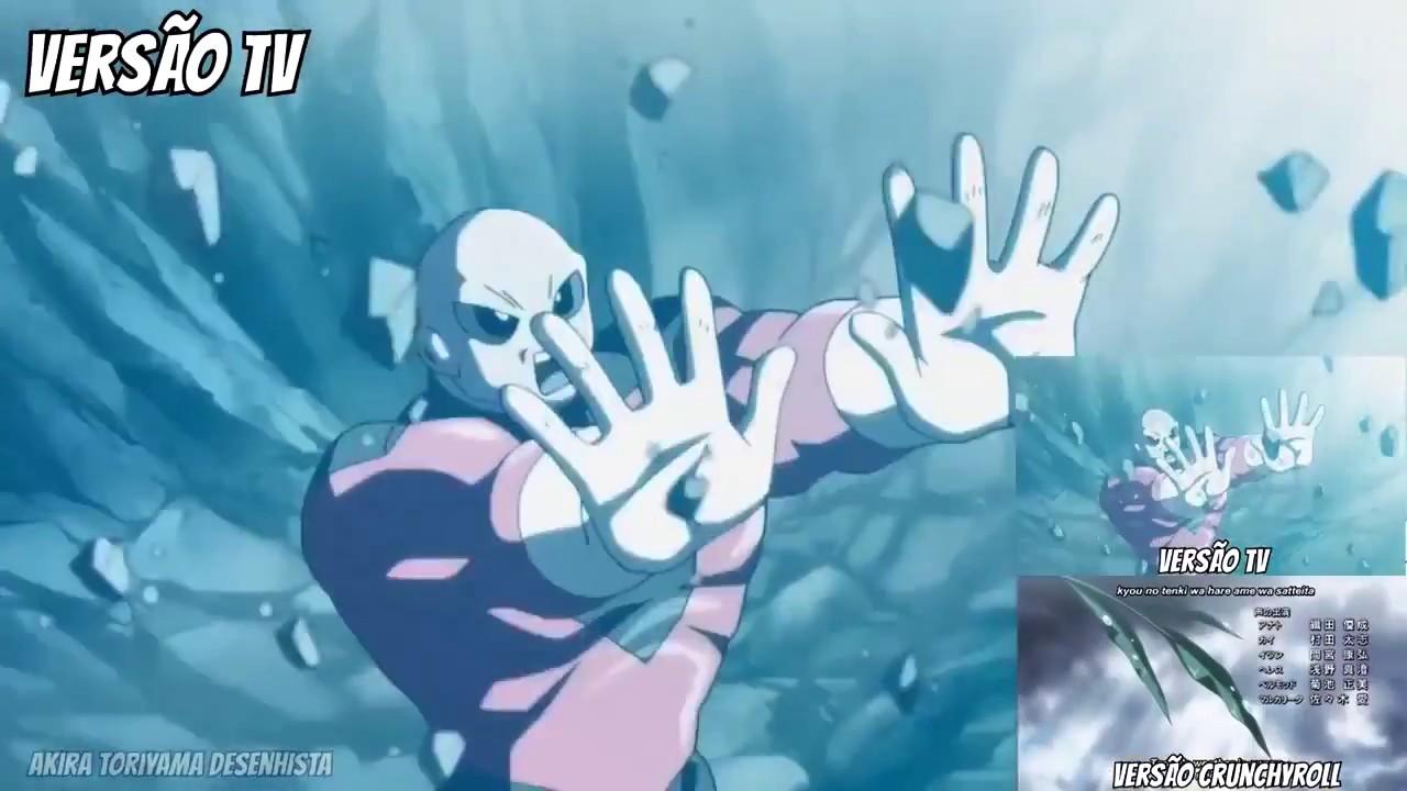 Goku vs Jiren deleted scene ONLY SHOWN IN THE TV VERSION Dragon Ball Super  109