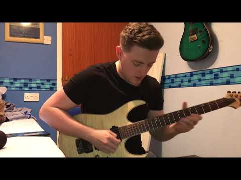 BAD WOLVES - ZOMBIE *GUITAR SOLO COVER WITH TABS*