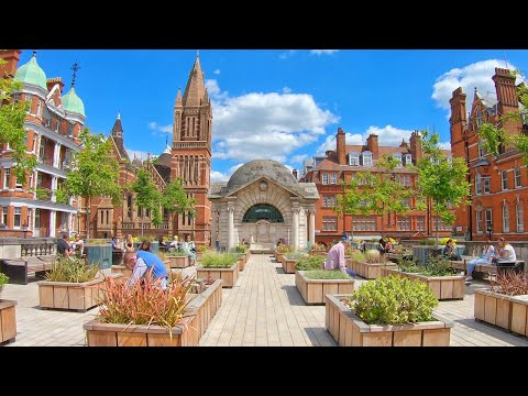 London Reopens, Walking Mayfair Lunchtime  / 4K Walk