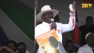 RAILA AND KALONZO'S  FULL SPEECH AT JACARANDA IN NAIROBI 28TH 5 17