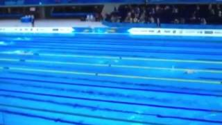 Final Natacion d relevos 4X100 Mujeres Final of swimming Women 4x1000