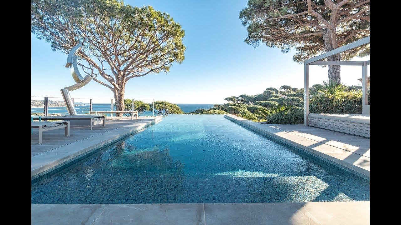 Villa Contemporaine Vue Mer A Sainte Maxime Espaces Aypiques