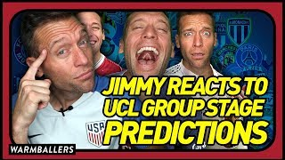 REACTING TO MY 2018-19 CHAMPIONS LEAGUE GROUP STAGE PREDICTIONS!!!
