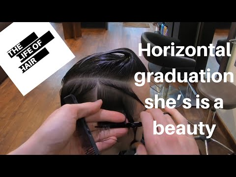 The Firefly, The Wedge All Created With The Horizontal Graduation Hair Cut
