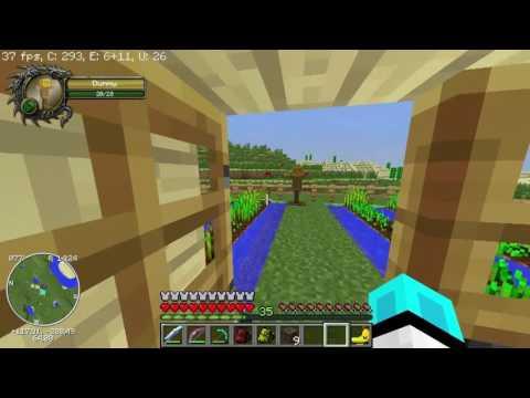 Sezon 10 Minecraft Modlu Survival Multi Bölüm 12 - Yeni Eve Taşınıyoruz