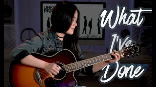 (Linkin Park) What I've Done - Fingerstyle Guitar | Josephine Alexandra