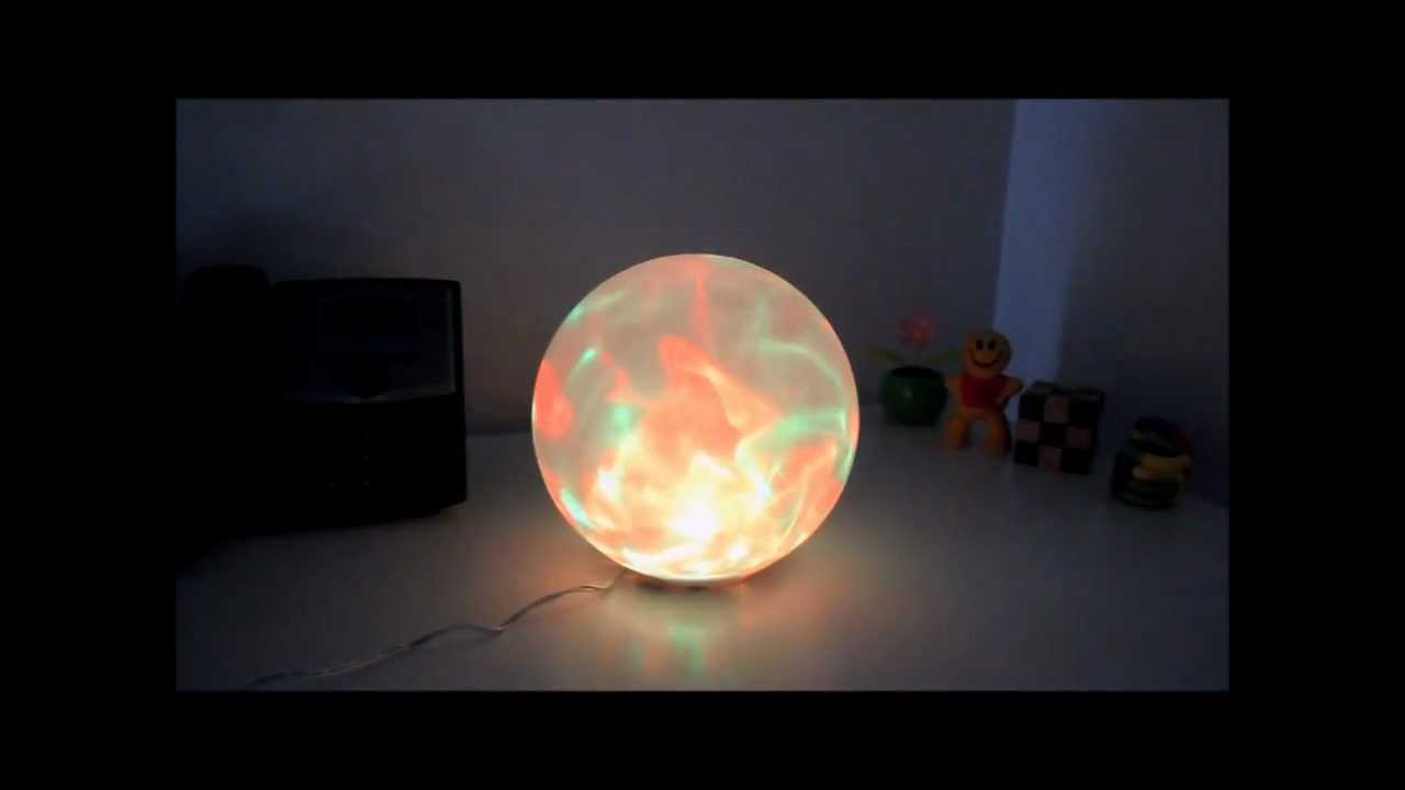 Creative Motion 3-Ball Color Changing Night Lamp
