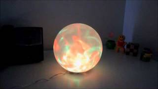 Color Changing Sphere Lamp (strobe)
