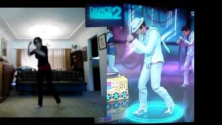 "DANCE CENTRAL 2 XBOX 360 KINECT ""Nothing On You"" Hard Gameplay 5 Star Gold 100%"