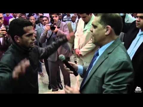 Demônio enfrenta Pastor Marcos Pereira no culto dos Milagres
