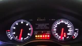 Audi A6 C7 arrows RS6 start