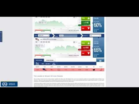 Banc de Binary - Trading Example