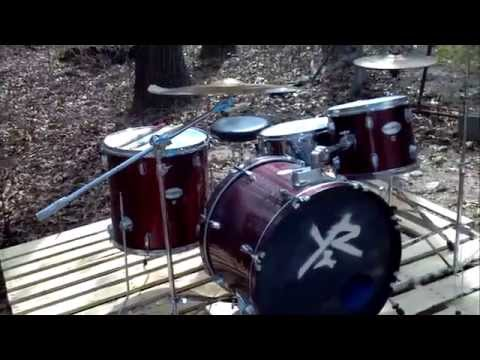 How to cheaply soundproof your drums for music videos / practicing || Ryan Dirusso