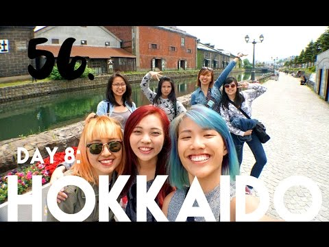 [VLOG] #56 - Day 8: HOKKAIDO (otaru canal, bank of japan, musical box museum)