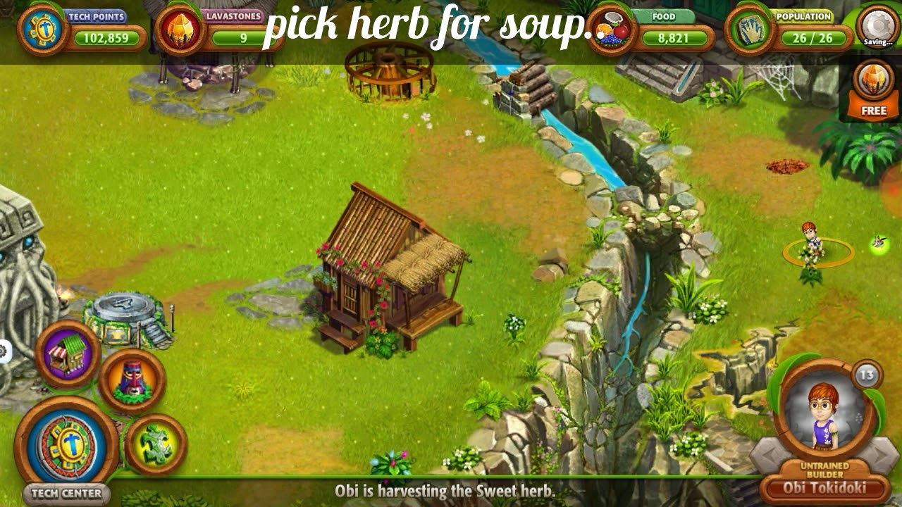Vv Origins 2 Pick Herb For Making Soup Youtube