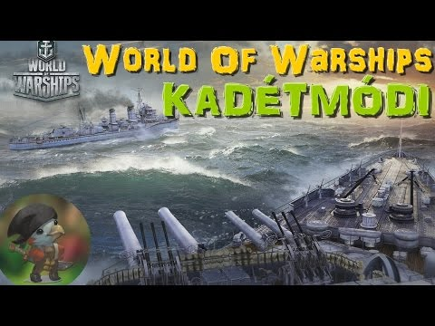 World of Warships Closed Beta - Zöldfülű Tengernagy