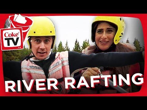 COKETV'S ROAD TRIP! - RIVER RAFTING MED SP4ZIE & ATHENA!   #CokeTVBucketlist