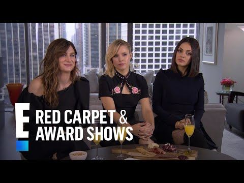 Mila Kunis, Kristen Bell & Kathryn Hahn on Holiday Traditions  E! Live from the Red Carpet