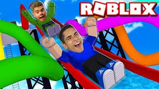 I WENT down the most RADICAL ROBLOX TOBOGÃ
