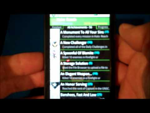 Best Android App For Xbox 360 Achievements - Achievement More Pro - Demo